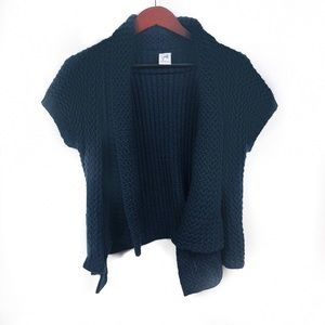 Sweaters - Jaqueline Riu French Short Sleeve Cardigan